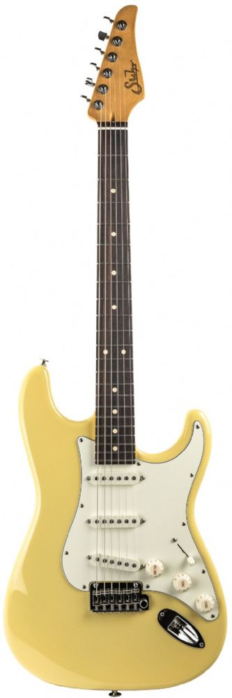 Suhr Classic S Vintage Yellow Rosewood Fingerboard